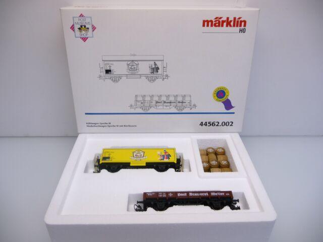 Märklin 44562.002 H0 1:87 3L~ Wagenset POST BRAUEREI WEILER Ep. IV DB TOP in OVP
