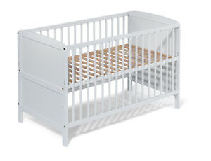 KOKO-lit-d-039-enfant-lit-de-bebe-034-NELE-034-evolutif-120x60-blanc-bois