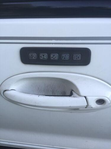 Ford//Mercury Fusion /& Milan KEYLESS ENTRY Door Keypad REPAIR Decal Worn Buttons