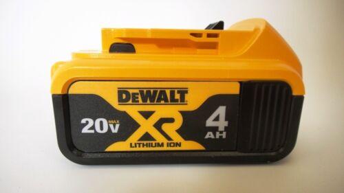 BRAND NEW DEWALT DCB204 20-Volt MAX XR LITHIUM-ION BATTERY 4 AH 4AH