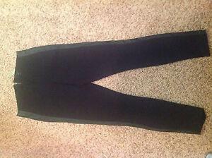 Taille Noir Jcrew Pixie Tuxedo En Cuir Pantalon Rayures 0 À 66HxZwR4q