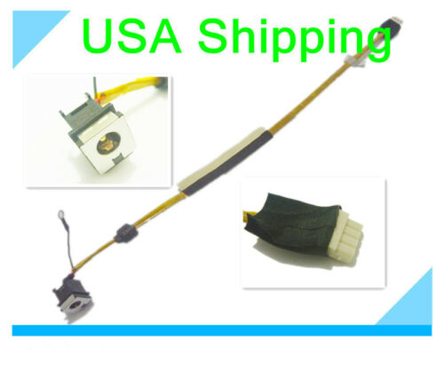 DC power jack cable harness TOSHIBA SATELLITE P505-S8950 P505-S8970 P505-S8980