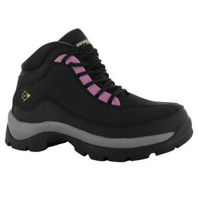 DUNLOP SAFETY HIKER BOOTS SHOES WOMENS SHOCK ABSORBING OIL SLIP RESISTANT NEW