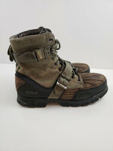 Polo Ralph Lauren Brennan Leather Hiking Winter Bo
