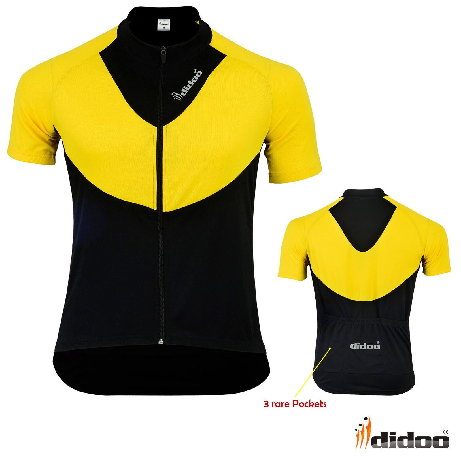 Mens Cycling Jersey Short Sleeve Shirt Bicycle Racing Team Jersey jacket