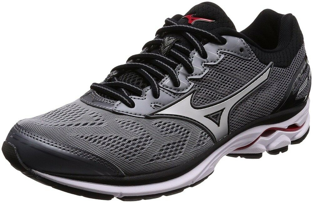 Mizuno Running shoes WAVE RIDER 21 J1GC1803 Silver × Silver × Red F/S