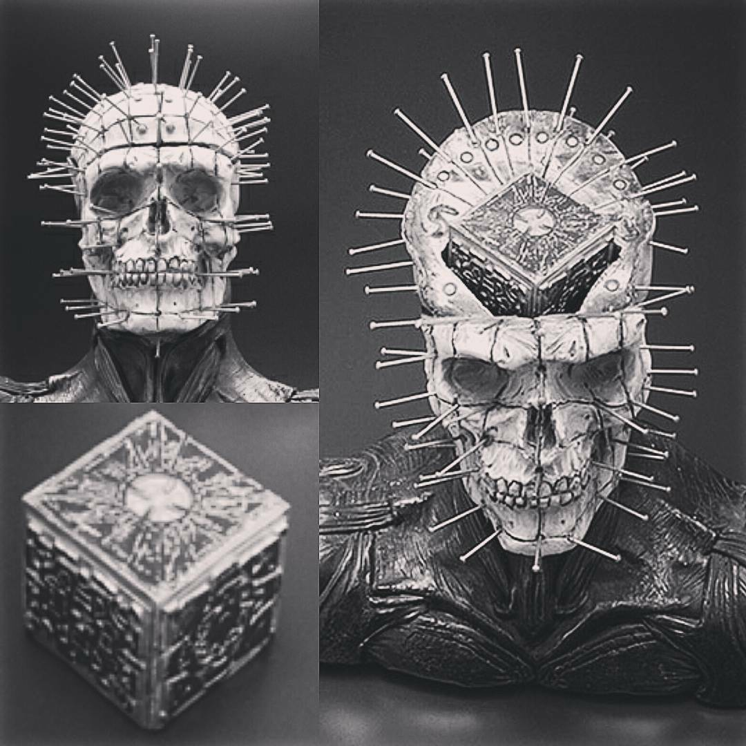 SKULL BITE Fewture PINHEAD HELLRAISER Garage Model Kit 1 3 Scale NIRASAWA Japan