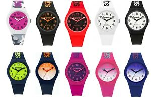 Genuine-Superdry-039-Urban-039-Unisex-Silicone-Strap-Watch-With-Choice-of-Colours