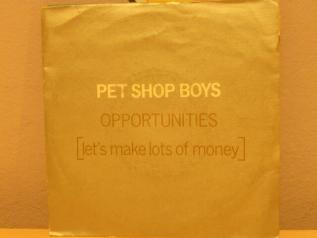 PET SHOP BOYS - OPPORTUNITIES (let's make lots of monkey ) - WAS THAT II WAS -