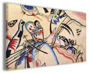 Quadri famosi Wassily Kandinsky II stampa su tela canvas riproduzioni d/'arte