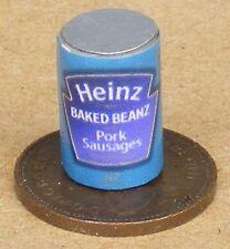 1:12 Scale Spaghetti Hoops Tin Dolls House Miniature Food Cans Accessory