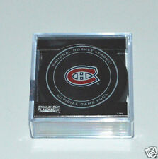 MONTREAL CANADIENS 2013 Stanley Cup Playoffs OFFICIAL GAME PUCK NEW Team Logo