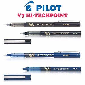 Pilot-HI-TECH-Point-stylos-V7-japonais-Technologie-0-7mm-Pointe-aiguille-4-diff