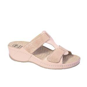 Ciabatta-Dr-Scholl-Primula-donna-PLANTARE-ESTRAIBILE-colore-rosa-chiaro