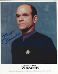 Robert Picardo Signed Star Trek Voyager The Doctor Promo ...