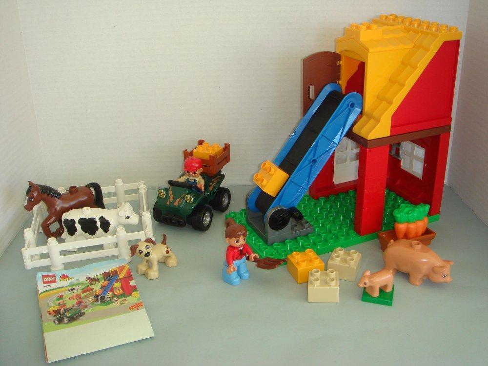 LEGO VILLE FARM SET - DUPLO 4975 - COMPLETE