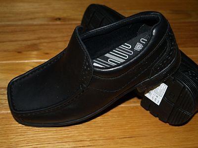 Niño Clarks Zapatos Escolares Negro Tamaño 2.5 G (mayores Niño) Bootleg BNWB