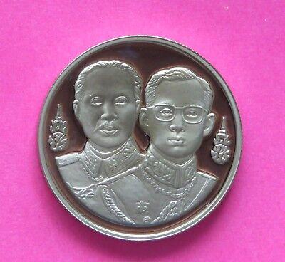2000 Thailand 20 Baht Coin King Bhumibol Adulyadej Rama IX /& Rama I unc from bag