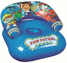 CHILDRENS PAW PATROL INFLATABLE CHAIR GAMING SEAT or  POOL MOON LOUNGER 88966