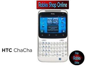 HTC-Chacha-Weiss-Ohne-Simlock-Smartphone-Wlan-3G-GPS-Radio-5-0MP-Android-NEU-OVP