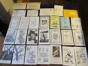 John-Johnson-Bookseller-Catalog-29p-lot-Natural-History-North-Bennington-VT-Mg