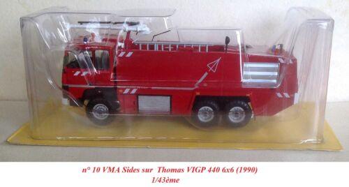 au choix Hachette Camions de Pompiers 1//43ème
