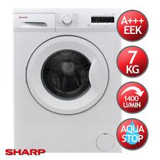 Waschmaschine Frontlader A+++ SHARP ES-FB7143W3A-DE 7kg 1400U/min Aqua Stop LED
