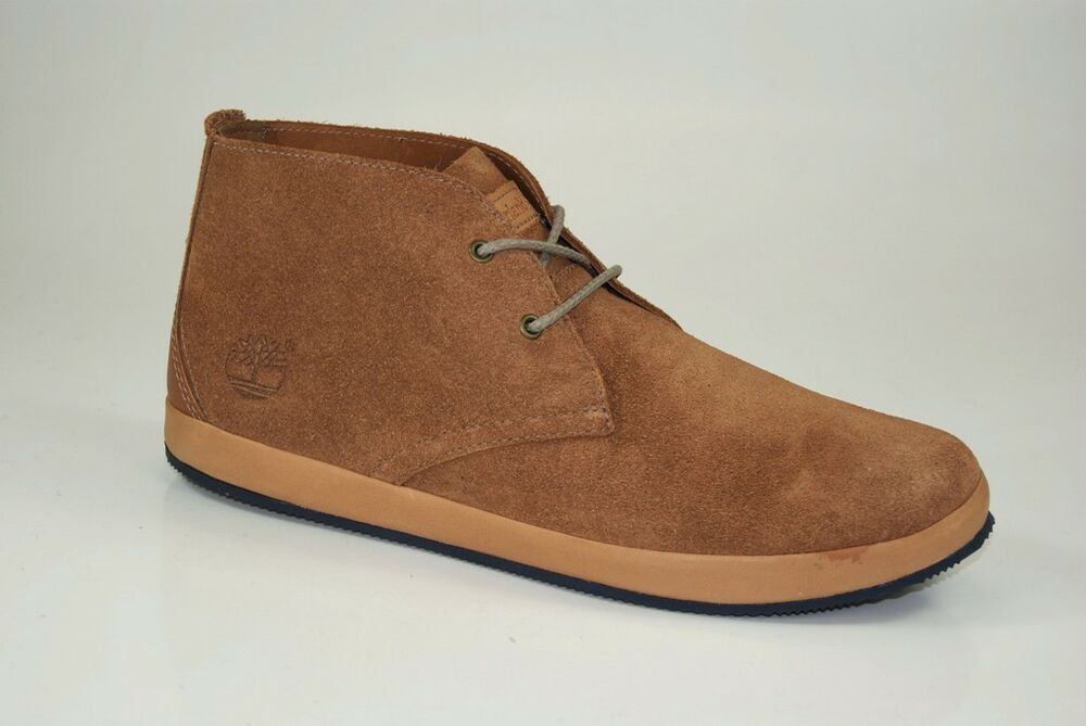 Timberland Woodcliff Chukka Bottes Taille 41 Us 7,5 Lacets Chaussures 5409a