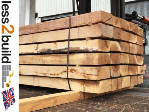 New Hardwood Oak Timber Garden Railway Sleepers 200mmX100mm 2.4M Raised Beds
