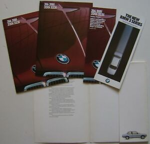 BMW-3-Series-316-318i-320i-323i-E30-1983-Original-UK-Launch-Brochure-Portfolio