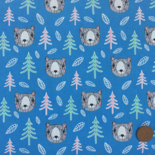 Fabrics /&  Bundles INTO THE WOODS childrens themed 100/% Cotton