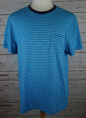 NEW Alfani Men/'s Top-Striped T-shirt Bright White Ash Large MSRP $25.00