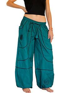 SAROUEL NEPAL Tribal MIXTE  Homme Femme S M L XL 34 36 38 40 42 44 46 48 NpK