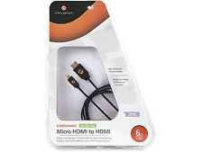 """6ft Micro HDMI to HDMI Cable for Amazon Kindle Fire HD 7"""" B0083PWAPW(2nd GEN)"""