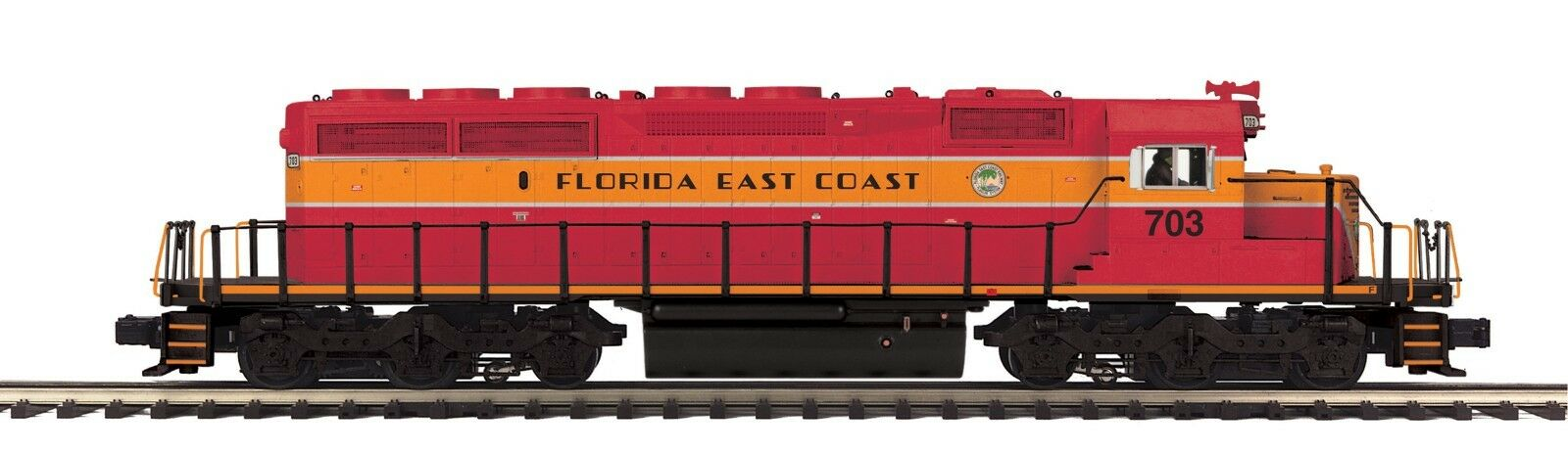 MTH 20-20993-1 FLORIDA EAST COAST  FEC  SD40-2 RD NO. 703 PredOSOUND 3.0 HI RAIL