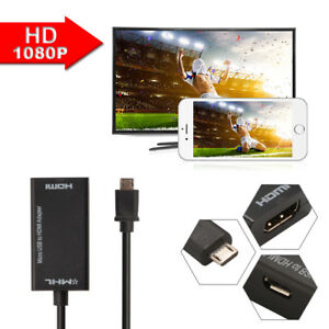 Mini-Micro-USB-2-0-MHL-to-HDMI-Cable-HD-1080P-for-Android-Smartphones-AC1075