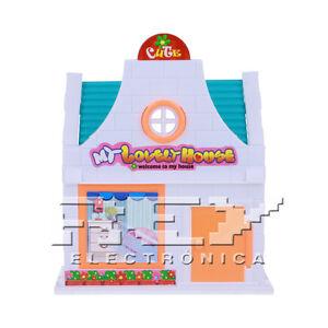 Casa De Munecas Juego Ninos 3 Anos Con Muneco Y Muebles J181 Ebay