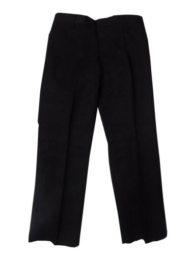 Marks Spencer Regular Fit Boys School Trousers Black Charcoal Grey 3-16yrs  New