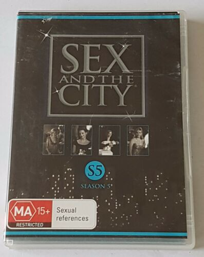 1 of 1 - Sex And The City : Season 5 DVD, 2008, 2-Disc Set (#DVD01284)