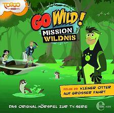 GO WILD!-MISSION WILDNIS - HÖRSPIEL ZUR TV-SERIE 23: KLEINER OTTER   CD NEU