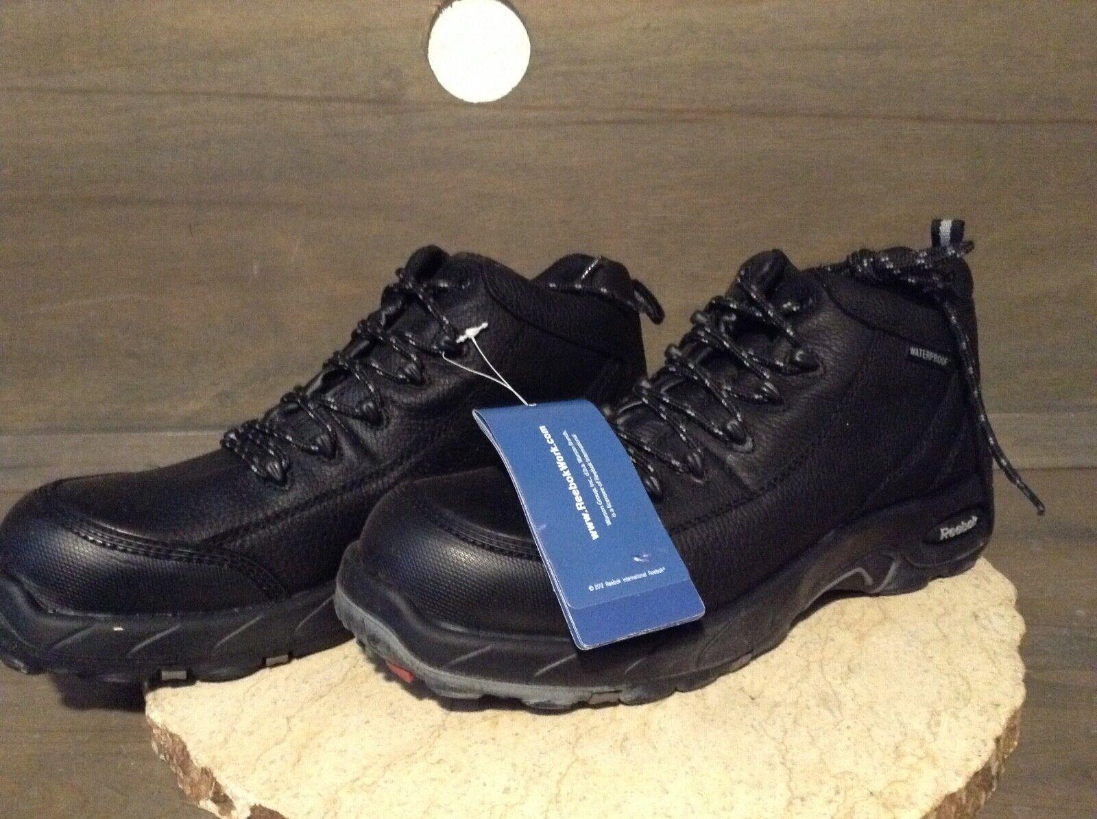3635e096997 Men's NWOB Reebok TIAHAWK 10.5 SIZE Leather Waterproof Boots Work ...