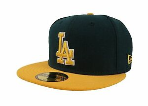 on sale db798 76a04 Image is loading New-Era-59Fifty-Cap-Los-Angeles-Dodgers-5950MLB-