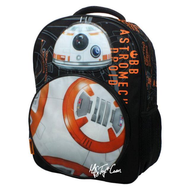 BNWT Kids Star Wars BB8 Backpack Rucksack Ep 7 School Bag Brand New