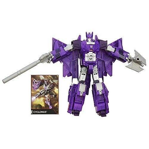 Transformers Generations Combiner Wars Voyager Class Cyclonus Figure
