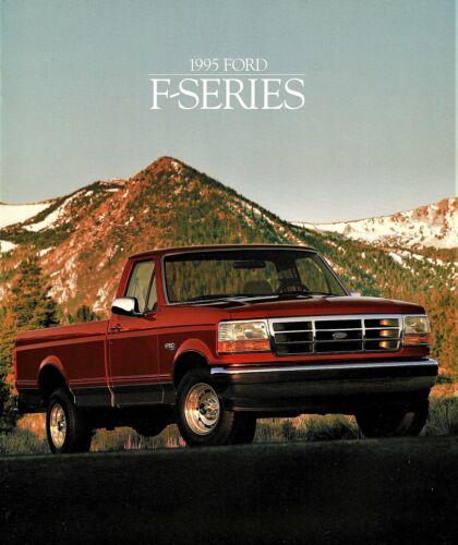 1995 Ford Pickup F-150 F-250 F-350 Pickup Truck Dealer Sales  Brochure