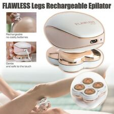 Wet Dry Women Flawless Legs Hair Cutter Painless Hair Remover Electric Epilator