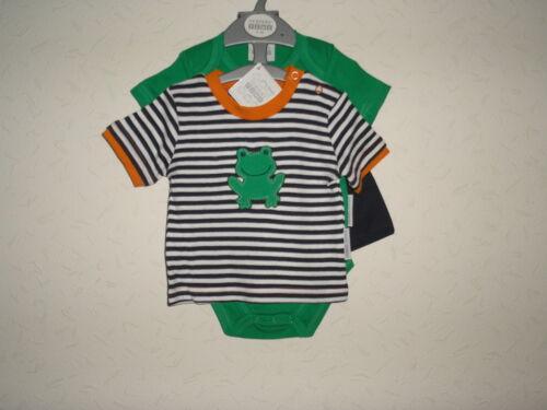 Baby Boys Clothes 3 Piece set Shorts T shirt vest  Newborn 0-3 3-6 months