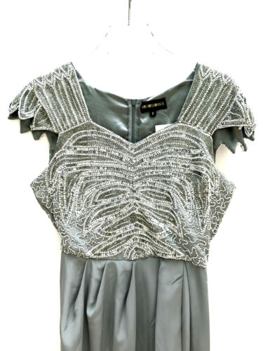 Size Embellished Party Uk10 Eur38 Wedding Midi Lounge Virgos Us6 Dress nUWBqZYqT