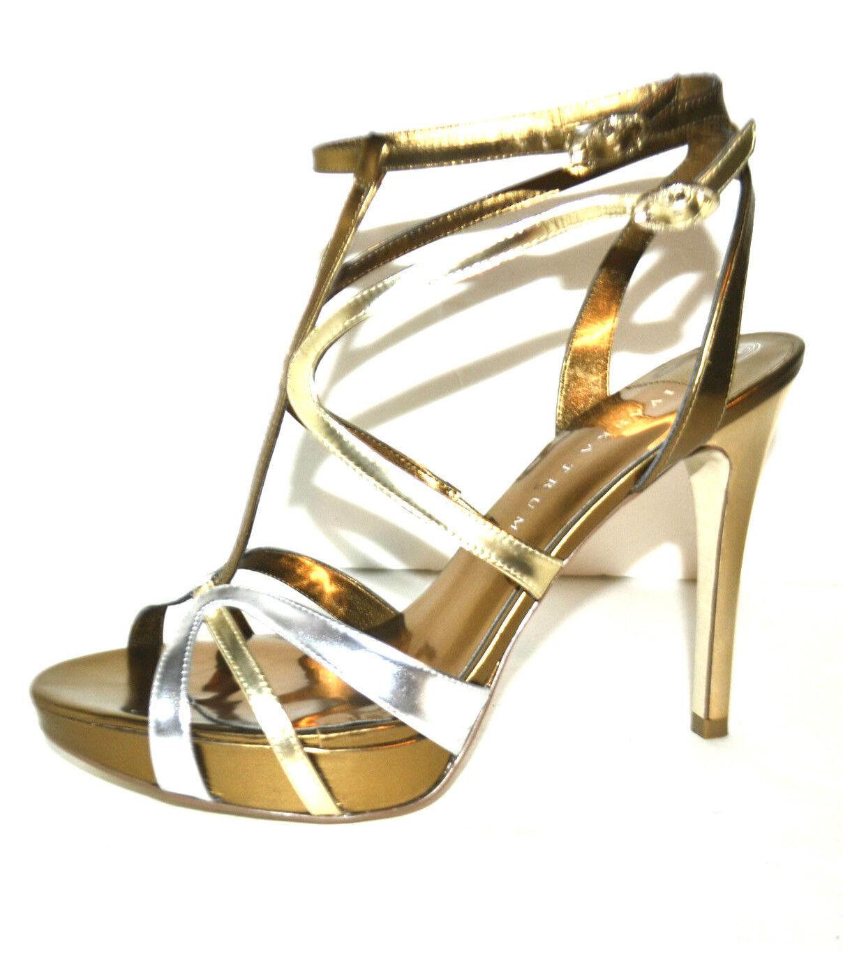 ELEGANT New Ivanka Trump  Wouomo scarpe Sandals oro Genuine Leather Dimensione 10  miglior prezzo migliore