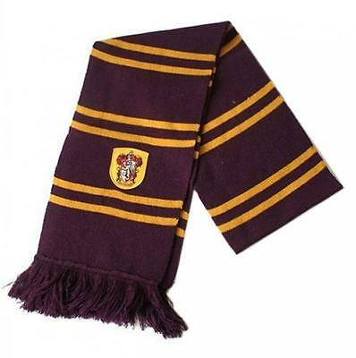 New Hot Harry Potter Gryffindor Thicken Wool Knit Scarf Wrap Soft Warm Costume